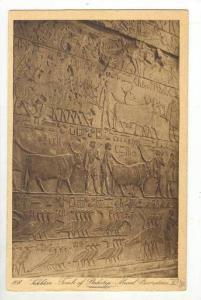 Lakkara, Tomb of Ptahotep, Mural decoration, Egypt, 1910-20s