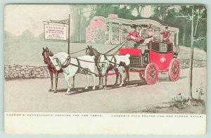 Providence~Boston Stage Coach~Calder Saponaceous Teeth Dentine~Nail Polish~1905