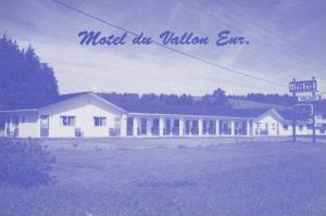 Exterior View, Motel du Vallon Enr., Causapscal, Quebec, Canada, 50-70´s