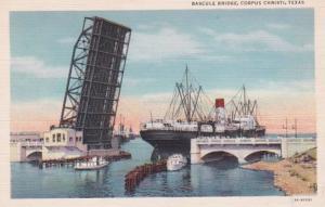 Texas Corpus Christi Bascule Bridge Curteich