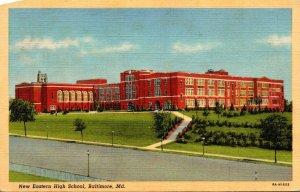 Maryland Baltimore New Eastern High School Curteich
