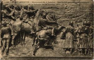 CPA  Saint-Quentin  - Monument du 8 Octobre - Bas-Relief gauche ...  (202282)