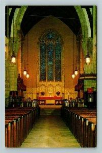 Palm Springs FL- Florida, Nave of Bethesda by the Sea, Church, Chrome Postcard