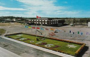 Public School , Centennial Garden , YELLOWKNIFE  , N.W.T., Canada , 50-60s