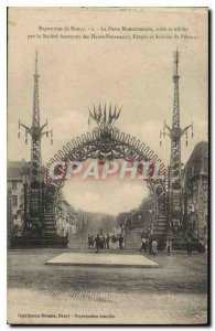 Old Postcard Exhibition NANCY The monumental gate