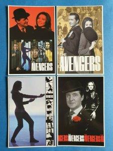 FULL Set of 4 The Avengers Postcards (Series 4) 33Z