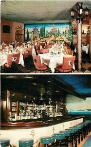 IL, Chicago, Illinois, Agostino's Restaurant, MultiView, Curteich No 6CK2987