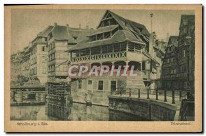 Old Postcard Strassburg Pflanzbad