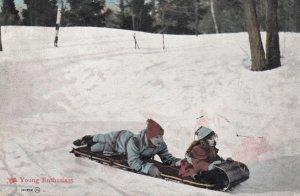 Sledding , 1907