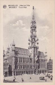 Belgium Brussells Hotel De Ville Brussels Town Hall