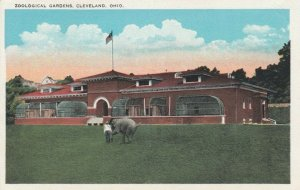 CLEVELAND , Ohio , 1910s; Zoological Gardens