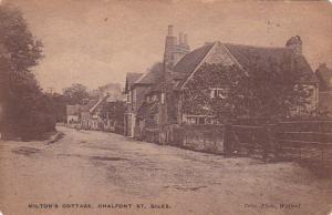 Milton's Cottage, Chalfont St. Giles, Buckinghamshire, England, United Kingdo...