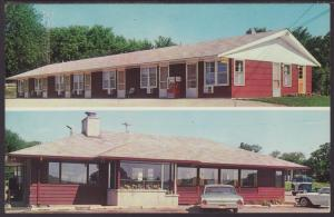 Dairy Bar Restaurant,Edgerton,WI Postcard