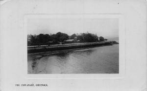 Greenock The Esplanade 1908 Panorama Postcard