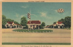 LITTLE ROCK , Arkansas, 30-40s; Colonial Tourist Court