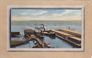 PORT WILLIAM, Ontario, Canada, 1900-10s; Harbour, Steamers