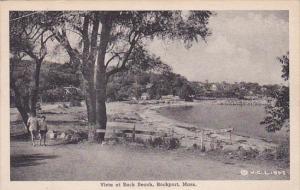 Vista At Back Beach, ROCKPORT, Massachusetts, PU-1947