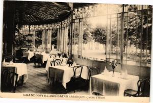 CPA Grand Hotel des Bains BESANCON - Jardin d'Hiver (182914)