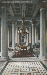 Marble Room in U.S. Capitol Building - Washington, DC - DB