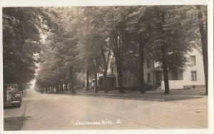 RP: LAKE ODESSA , Michigan , 1930-40s ; Street