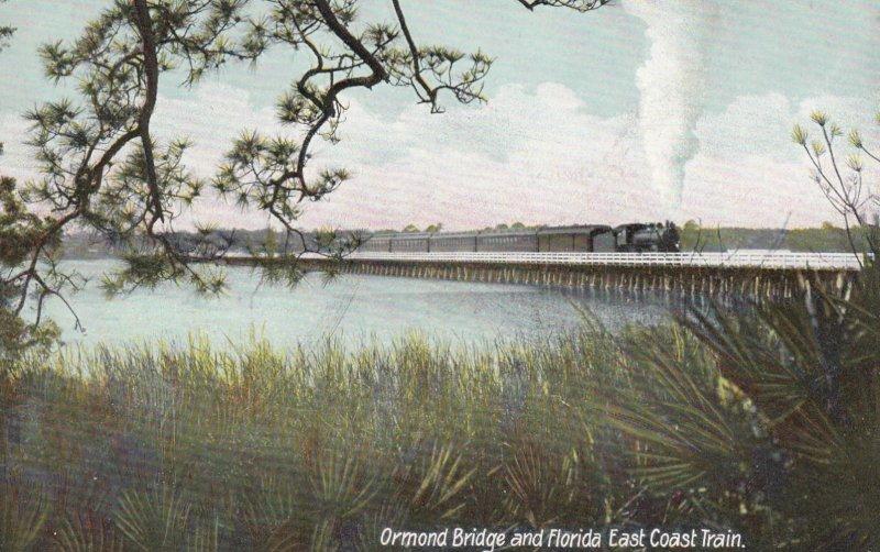 ORMOND , Florida , 00-10s ; Florida East Coast Train