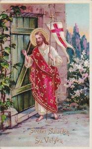 Easter Jesus Knocking On Door