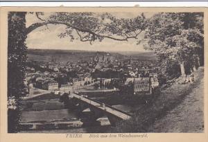 Germany Trier Blick aus dem Weisshauswald