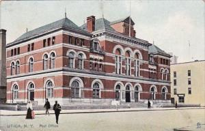 Post Office Utica New York 1910