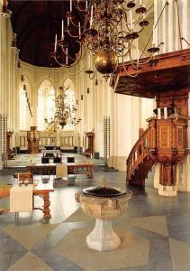 Netherlands Nijmegen Church Interior view Eglise