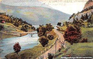New Road at Eide Hardanger Norway 1913