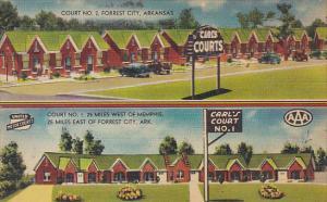 Arkansas Forrest City Carl's Court Number 1 & 2