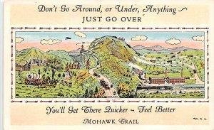 Maps Mohawk Trail USA Unused