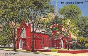 St. Mary's church 338 W. Washington St. Greenville, South Carolina