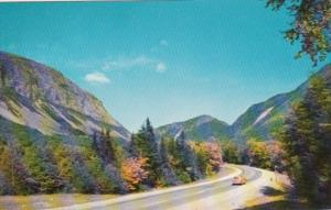 New Hampshire White Mountains Franconia Notch Heading North On U S Route 3
