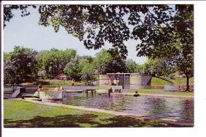 Upper Lock and Basin, Hotel Kenny, Redeau Lakes, Jones Falls, Ontario,