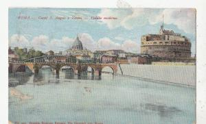 BF32515 castle s angelo e tateatre roma  italy  front/back image