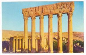 Uralt Ruinien Baalbek , Lebanon, 40-60s