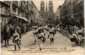 CPA ORLÉANS-Les Fetes de Jeanne d'Arc-Marsollier rue Bannier (266096)