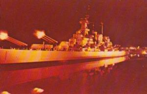 Sound & Light Spectacle U S S North Carolina Battleship Memorial Wilmington N...