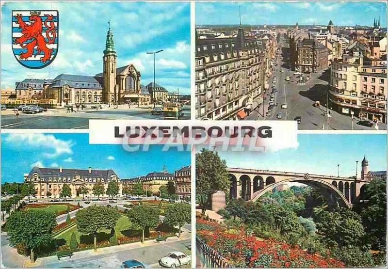 Modern Postcard Luxembourg