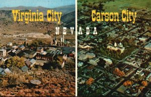 Virginia City, Carson City, Nevada, NV, Chrome Vintage Postcard g5473