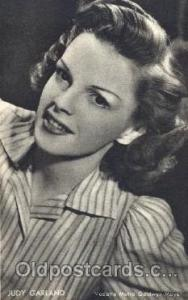 Judy Garland Trade Card Actor, Actress, Movie Star, Postcard Post Card Actor ...