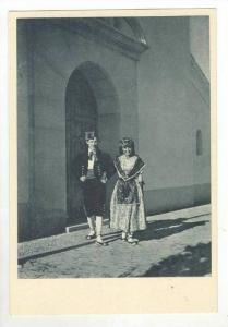 Couple With Traditional Spain Costumes, 1900-1910s