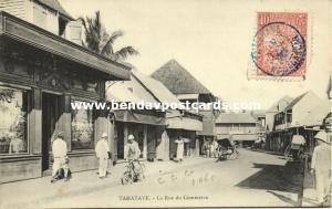 madagascar, TOAMASINA TAMATAVE, La Rue du Commerce (1910s) Stamp