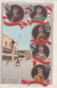 Kings,Venezia Ed I Suoi Izo Dogi,Palazzo Dei Dogi-Riedificato Nel 976 Dal Dog...
