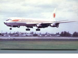 National Airlines - Douglas DC-8 - Landing at Miami International Airport
