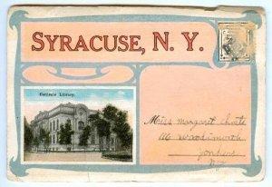 Souvenir Folder- 22 Views From Syracuse, New York, 1910-1920s