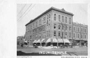 G11/ Oklahoma City Postcard c1910 India Temple Building