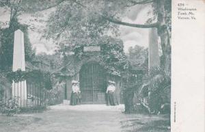 Washington Tomb at Mt Vernon VA, Virginia - UDB