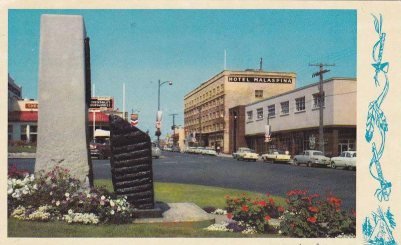 Street , Nanaimo , B.C. , Canada , PU-1966